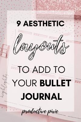 My 2021 Bullet Journal Setup Part 2