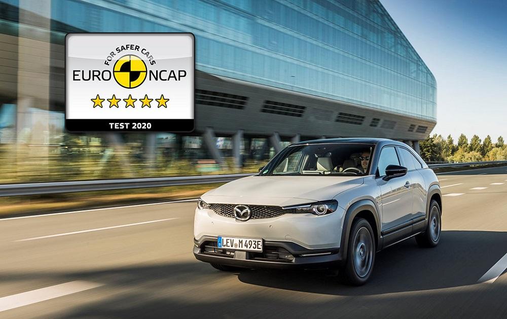 Mazda MX-30 achieves five-star Euro NCAP rating