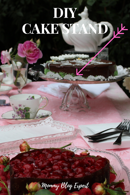 DIY Party Cake Stand