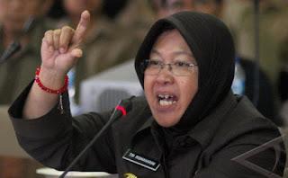 Risma Bantah Jokowi soal 70% Warga Surabaya Tak Bermasker: Kamu Lihat Saja di Jalan