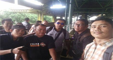 FWP DPRD Kota Padang Kunjungi PWI Jawa Barat,.