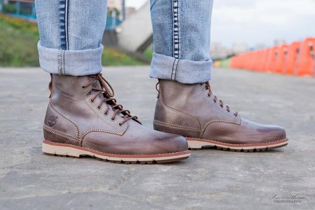 「敗家之路」Timberland 深褐色復古摔紋高筒靴 - 14