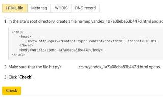Verifikasi situs domain