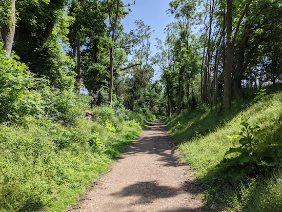 The Ayot Greenway close to Wheathampstead