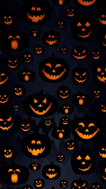 cartoon halloween wallpaper for iphone