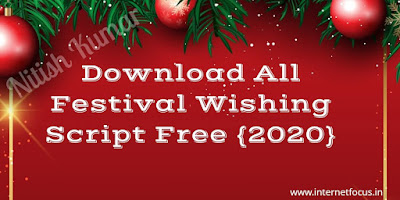 Download All Festival Wishing Script For Blogger