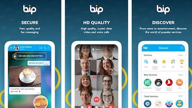 Tentang Aplikasi BiP Buatan Turki, Review dan Download Apk