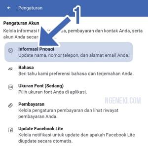 Cara Mengubah Nama di Facebook Lite Android Terbaru