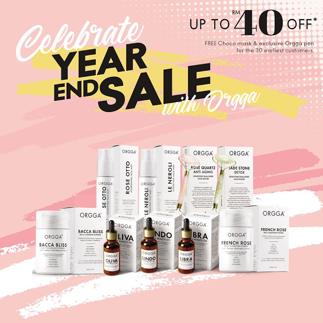 Orgga Year End Sale Natural & Organic Skincare