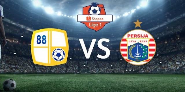 Hasil Pertandingan Shopee Liga 1: Barito 1-1 Persija