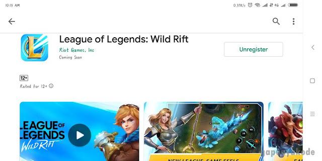League Of Legends Versi Mobile Akhirnya Ada di Google Playstore