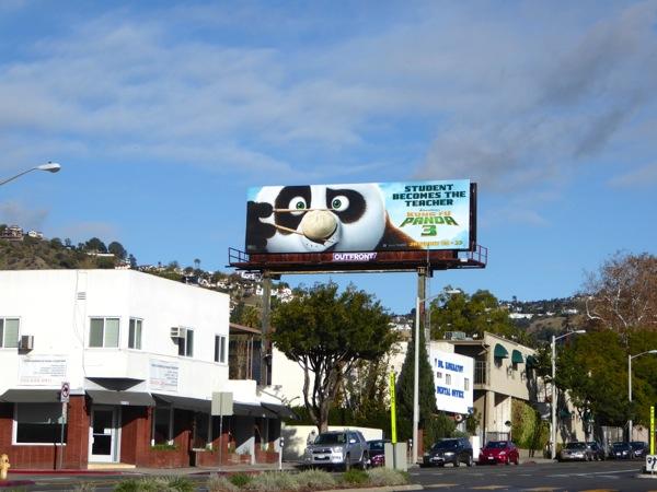 Kung Fu Panda 3 billboard