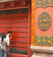 Door Ornamentation in the Forbidden City