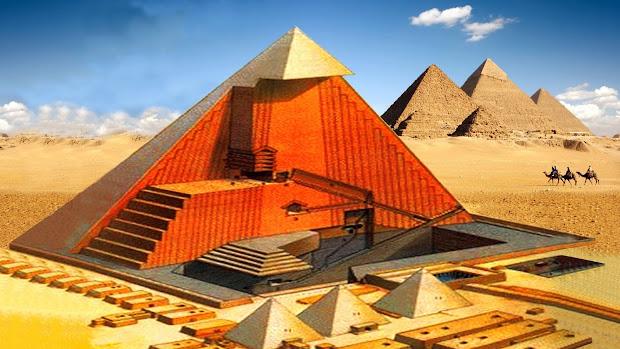 Scientia Potentia Est Discovery Great Pyramid Of Giza