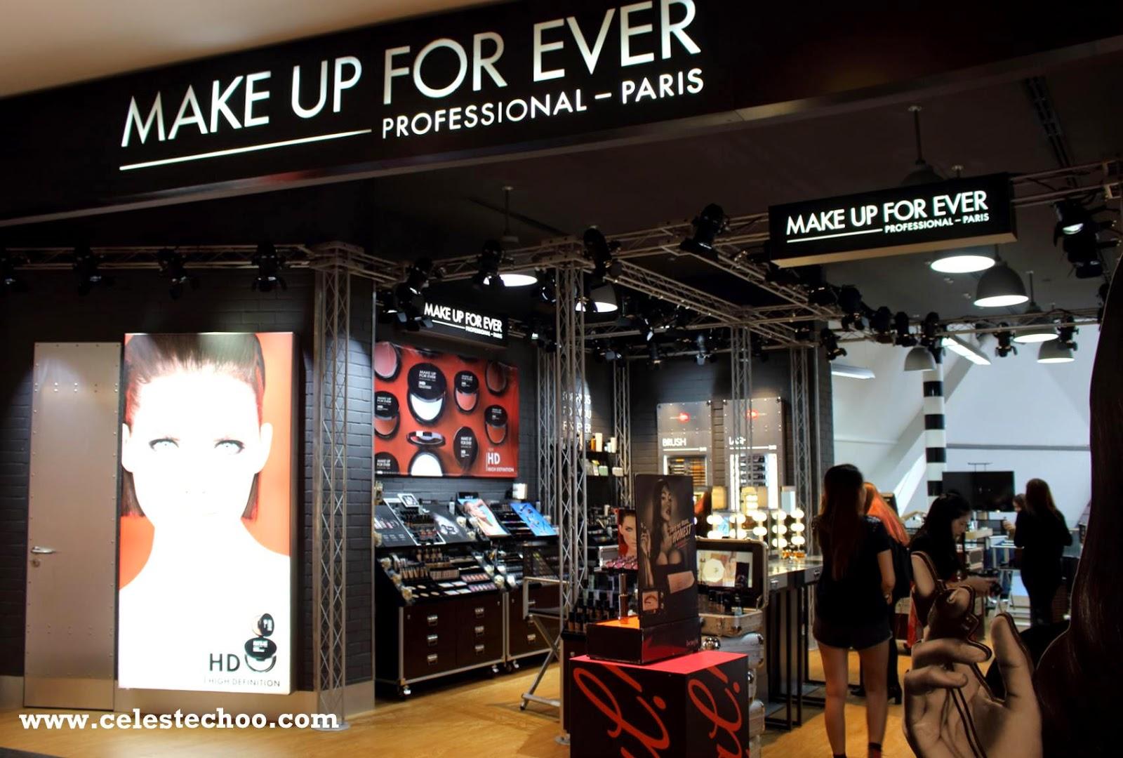 CelesteChoo.com: Make Up For Ever HD Make Up Workshop