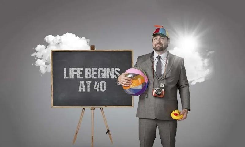 Life begins at 40?