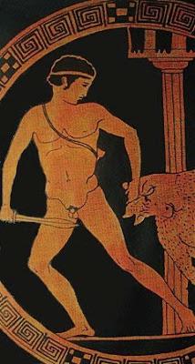 Thésée combattant le Minotaure