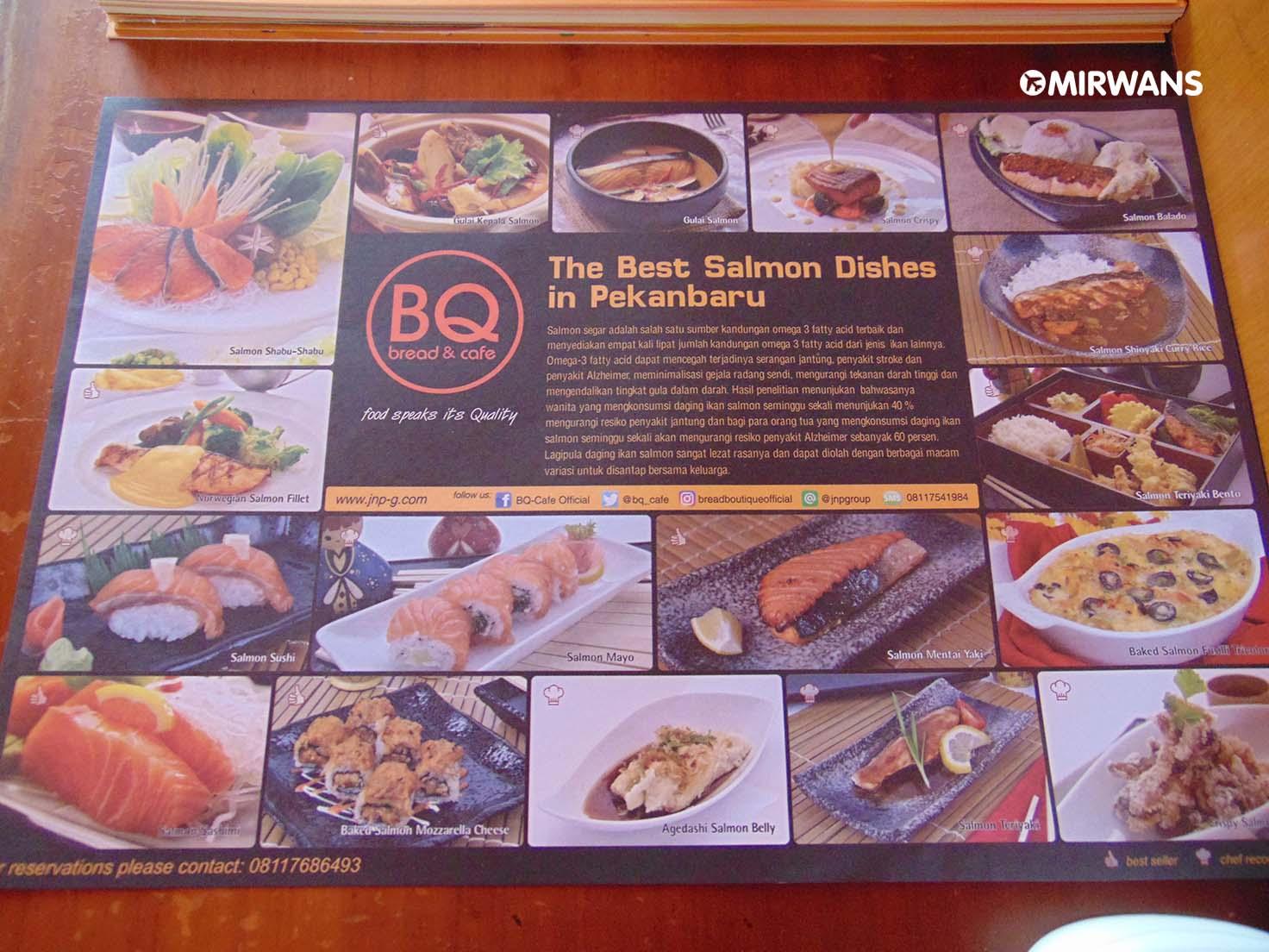 BQ Bread Boutique, Tempat Makan Olahan Ikan Salmon di Pekanbaru, tempat makan keluarga di pekanbaru  kuliner malam di pekanbaru  tempat makan enak di panam pekanbaru  kuliner pekanbaru 2018  tempat dinner romantis di pekanbaru  cafe di pekanbaru  pondok gurih rumah makan pekanbaru city riau  kuliner khas pekanbaru