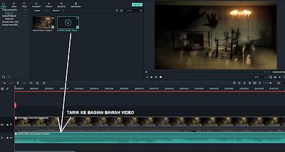 Cara Menghapus dan Mengganti Suara/Audio Di Video Menggunakan Filmora 9