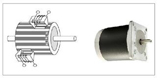 motor stepper magnet permanen