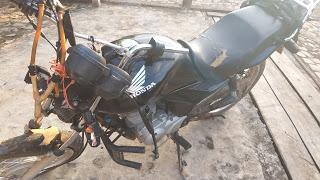 Barra D´Alcântara: Acidente com moto na PI-220 deixa um morto e outro gravemente ferido.