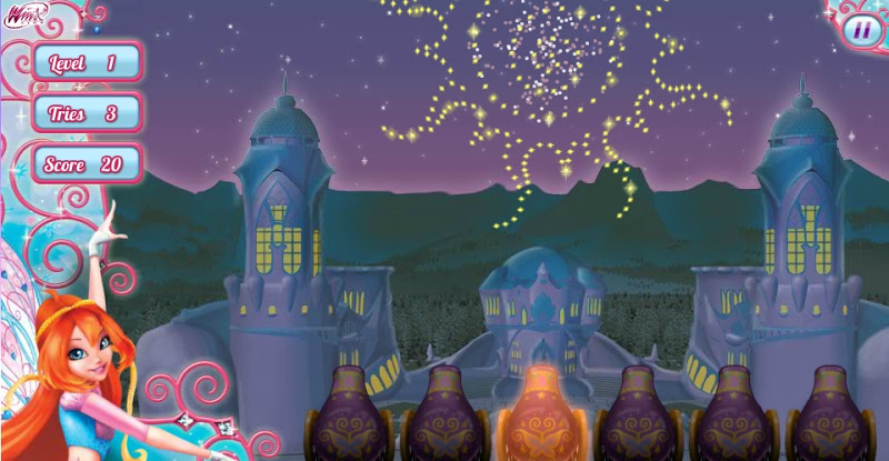 Winx club let your wings shine game