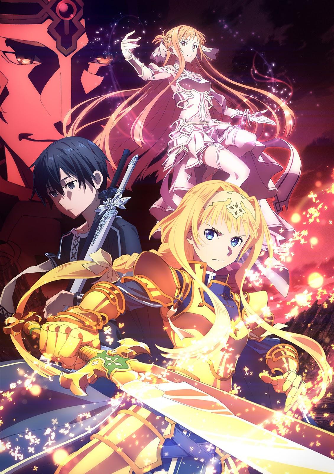 تقرير عن أنمي Sword Art Online: Alicization - War of Underworld