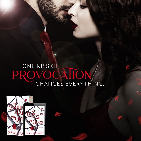 One kiss of provocation changes everything.