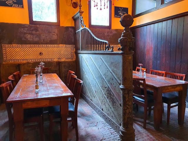 Restaurante Bordeaux, Casa da Ipiranga, Petrópolis