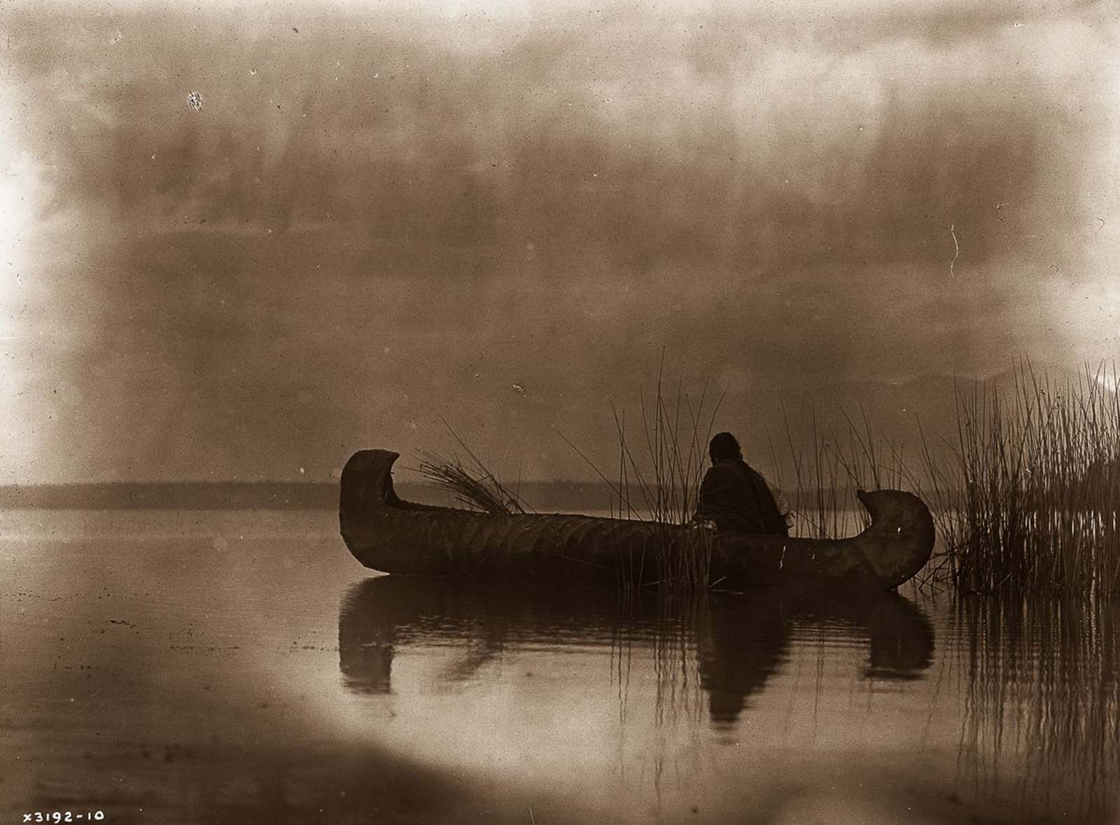 A Kutenai duck hunter. 1910.