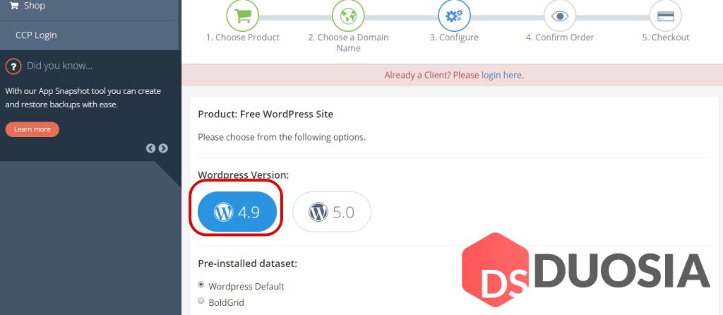 Cara Membuat Wordpress Self Hosted Gratis - Duosia