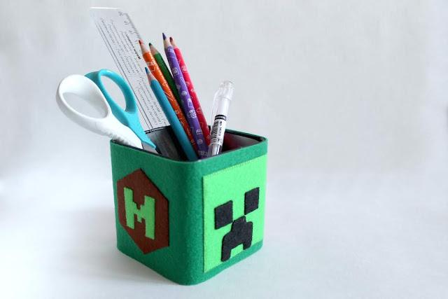 Карандашница Minecraft