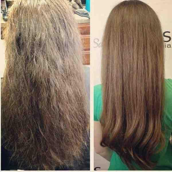 علاج الشعر التالف المطاطي والمتقصف من الصبغات مجرب و مضمون