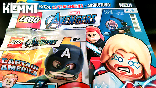 Magazin LEGO® Marvel Avengers Nr. 6 mit Foil-Pack