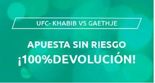Mondobets promo UFC 15-10-2020