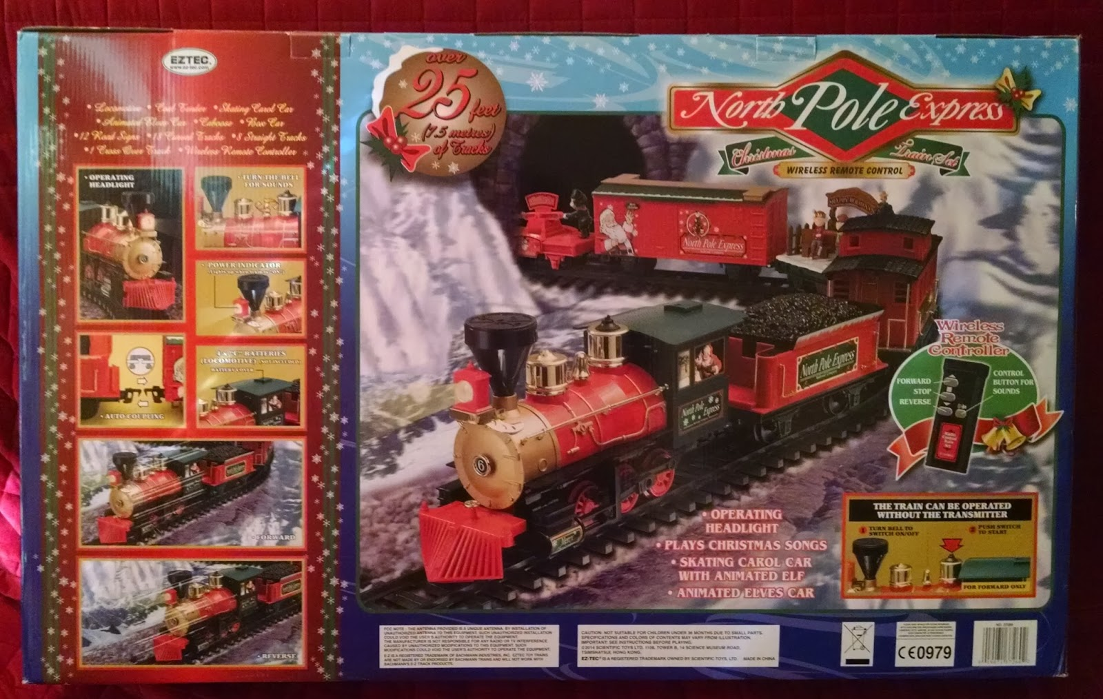 113+ Collection of North Pole Christmas Train Set - All About ...