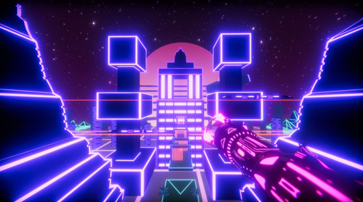 thumbnail screenshot indie game Neon Boost