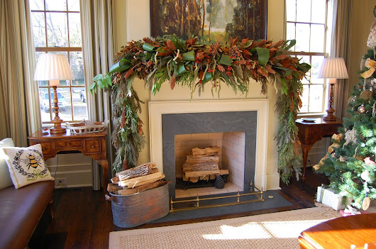 Traditional Fireplace Mantel Decorating Ideas With Brick Accent And Some Classic Candles On The Top         |         Lantzyruns Interior Design Home