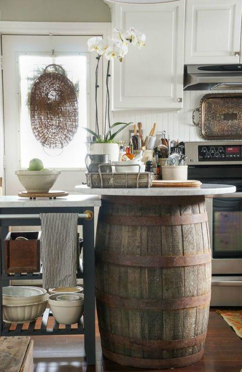 La Fabrique 224 D 233 Co Cuisine Rustique Chic Et Esprit Brocante