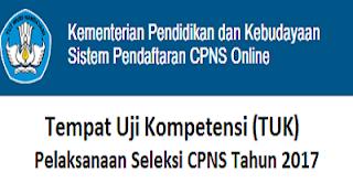 Tempat Uji Kompetensi CPNS 2017
