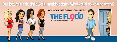 Sex, Love, Dating Disasters, The Flood, Steven Scaffardi, Lad Lit, Funny Book, Comedy Book, Humor Book, Humour Book, Comedy Novel, Fiction