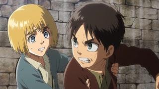 進撃の巨人 アニメ | アルミン・アルレルト 幼少期 |  Armin Arlert Childhood | Hello Anime !