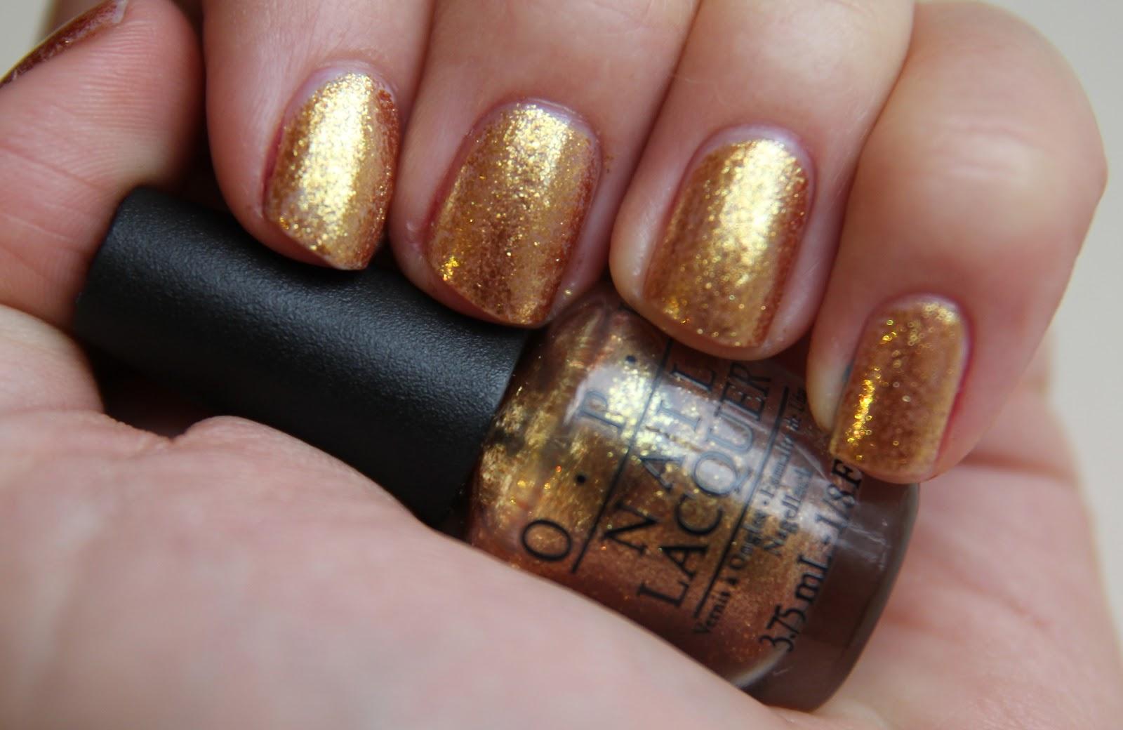 Opi Goldeneye Fleur De Force