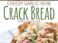 Cheesy Garlic Herb Crack Bread