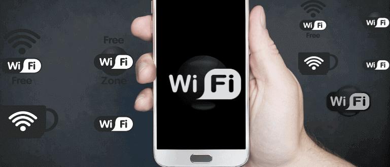 Mencari Lokasi Wifi Gratis
