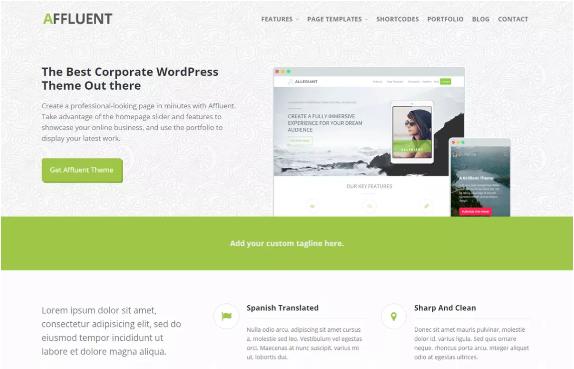 affluent-free-wordpress-themes