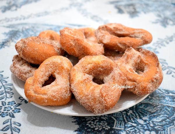 Roscos Fritos de la Abuela Amalia. Vídeo Receta