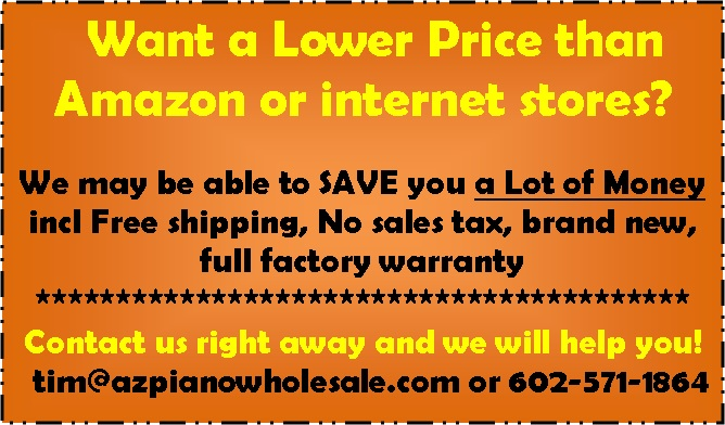 lower prices than Amazon and internet