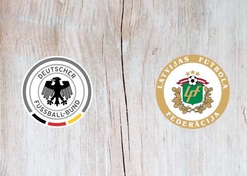 Germany vs Latvia -Highlights 07 June 2021