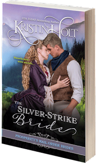 Kristin Holt | Book Cover Image: The Silver-Strike Bride, Book 2 of Prosperity's Mail-Order Brides Series by Kristin Holt. (Paperback representation)